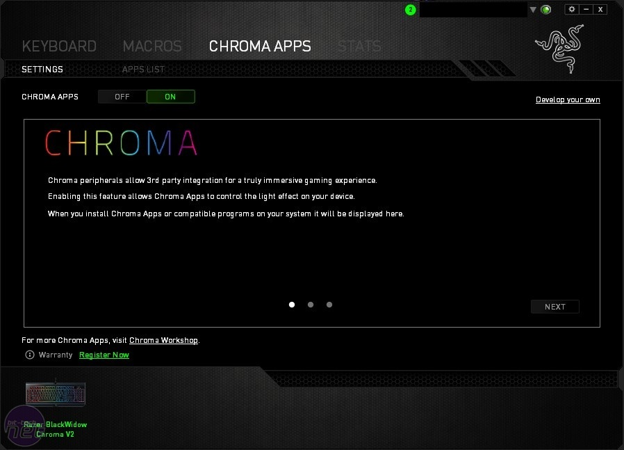 Razer BlackWidow Chroma V2 Review   bit-tech net