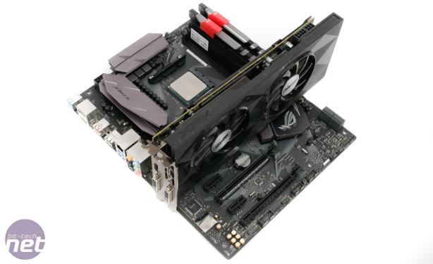 Asus ROG Strix B350-F Gaming Review Asus ROG Strix B350-F Gaming Review - Test Setup