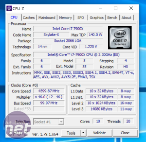 Intel Core i9-7900X (Skylake-X) Review Intel Core i9-7900X Review - Overclocking, Performance Analysis, and Conclusion