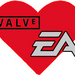 Valve sign with EA