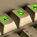 World's first keyboard with LCD keys