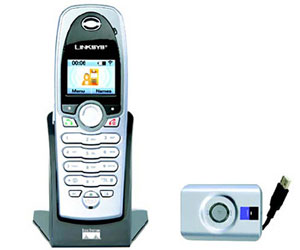 Linksys launch DECT Skype phone