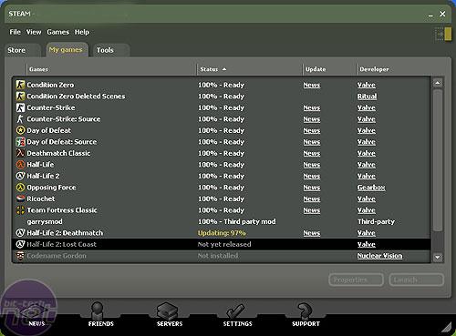 Valve update the Steam interface | bit-tech net