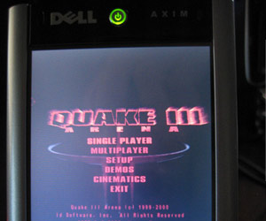 PDA Quake III with PowerVR