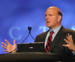 No iPod or Google for Ballmer family