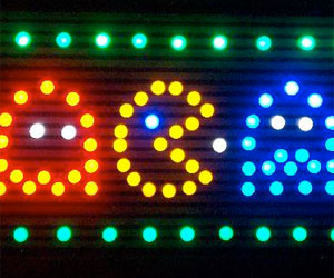 Build your own LED fridge magnets