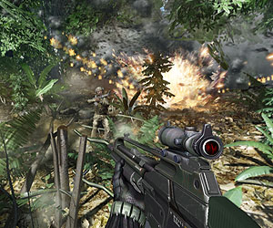 Crysis details revealed, stunning new screenshots
