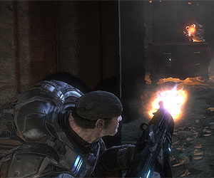 We get to grips with the Gears of War