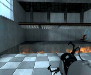 Trailer online for Valve's Portal