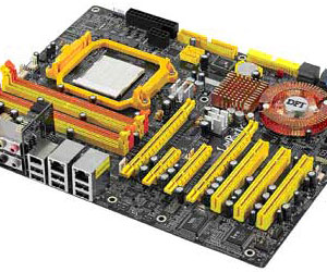 DFI announces LANParty UT NF590 SLI-M2R mobo