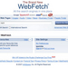 Can WebFetch out-Google Google?