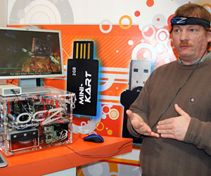 OCZ controls games with your mind