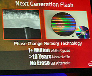 Phase Change Flash Memory is the Future