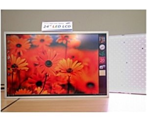 "Samsung announces 24"" LED-backlit LCD panel"