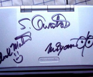 Miyamoto signed DS up for auction