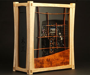 Carbon Zero Computing: Wooden PC