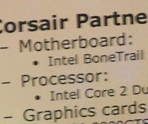 "Intel's X38 ""BoneTrail"" mobo pictured"