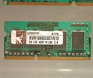 Kingston already has DDR3 SO-DIMMs