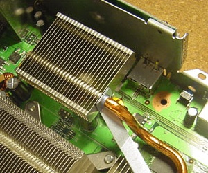Microsoft adds heatsink to the 360