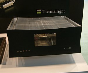 ThermalRight demos heatsink chassis