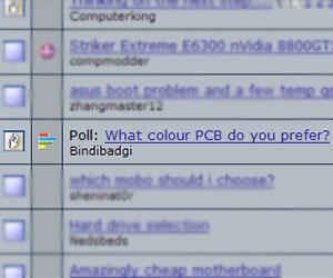 What Colour PCB do you prefer?
