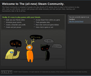 Steam Community beta upgrade goes live