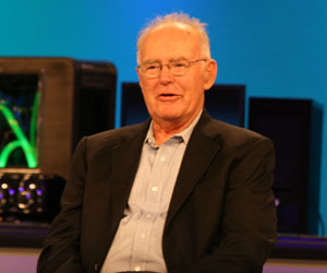 Gordon Moore joins IDF's 10th year celebration