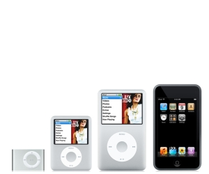 Meet the new iPods