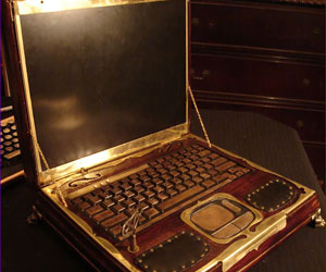 Steampunk laptop mod unveiled
