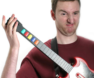 Guitar Hero drives interest in playing real guitar
