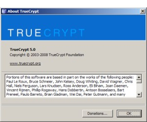 Mac support for TrueCrypt 5.0