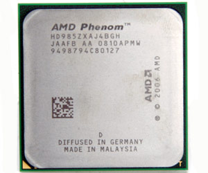 AMD announces new Phenom processors
