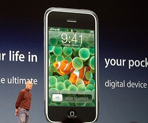 iPhone gets App Store, Exchange syncing
