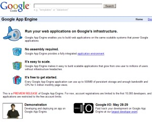 Hacker frees Google App Engine