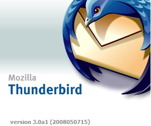 Thunderbird 3 Alpha sneaks onto web