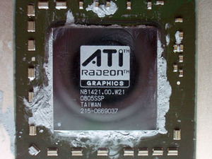 AMD HD 4850 – RV770 GPU die shot