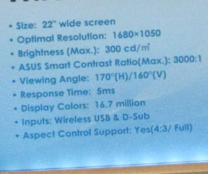 "Asus shows off 22"" DisplayLink monitors"