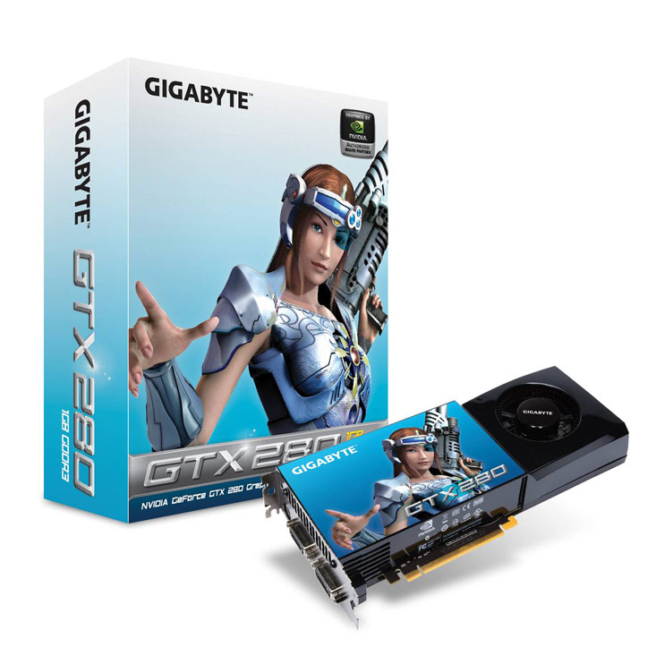 GIGABYTE Unveils Next Generation Graphics - Setting New Records with the GV-N28-1GH-B and GV-N26-896