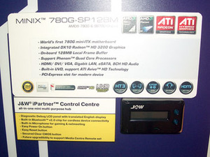 J&W 780G mini-ITX has niche HTPC features J&W 780G mini-itx has niche HTPC features