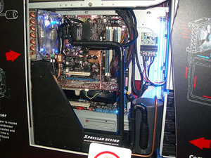 Thermaltake phase change and Spedo case Thermaltake has new phase change cooling