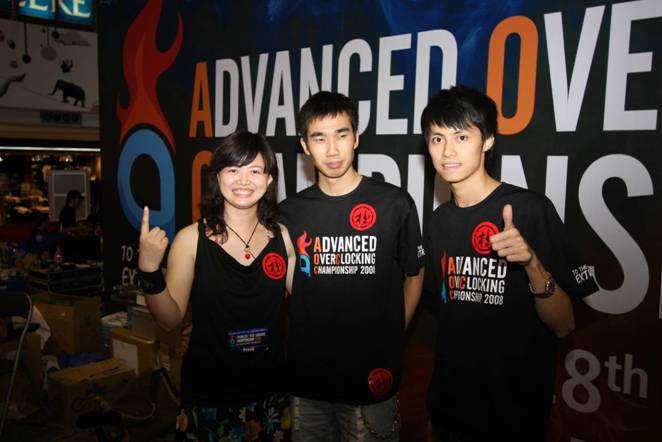 International Winner of Advanced Overclocking Championship 2008 Crowned at Hong Kong Dragon Centre