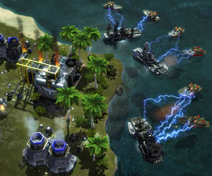Red Alert 3 beta system specs revealed