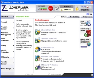 ZoneAlarm fix for DNS death released