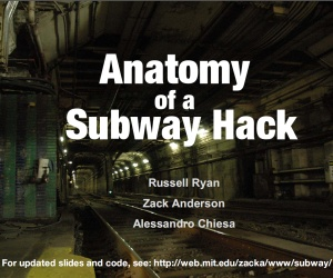 Defcon: 'Subway Hack' talk gagged