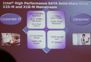 Intel outlines SSD plans