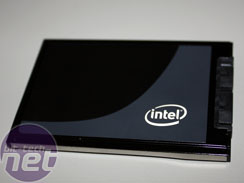 Intel X18-M 80GB SSD smiles for the camera
