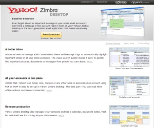 Yahoo's Zimbra exposes passwords