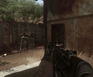 Far Cry 2 has cropped widescreen
