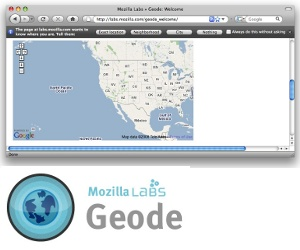 Mozilla Labs introduces Geode