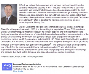Dell CTO to retire
